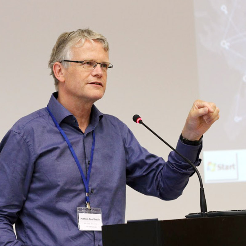 Prof. Menno-Jan Kraak, ITC, University of Twente
