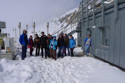 Excursion to Zugspitze