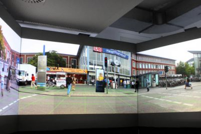 IVE (Immersive video environment), Picture: University of Münster