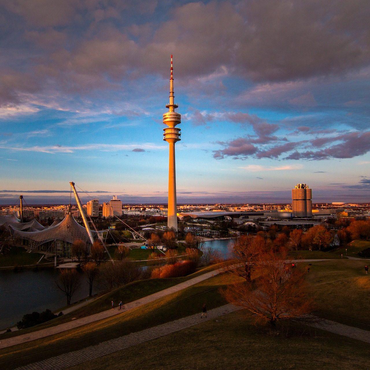 Olympiapark, München. Foto: pixabay