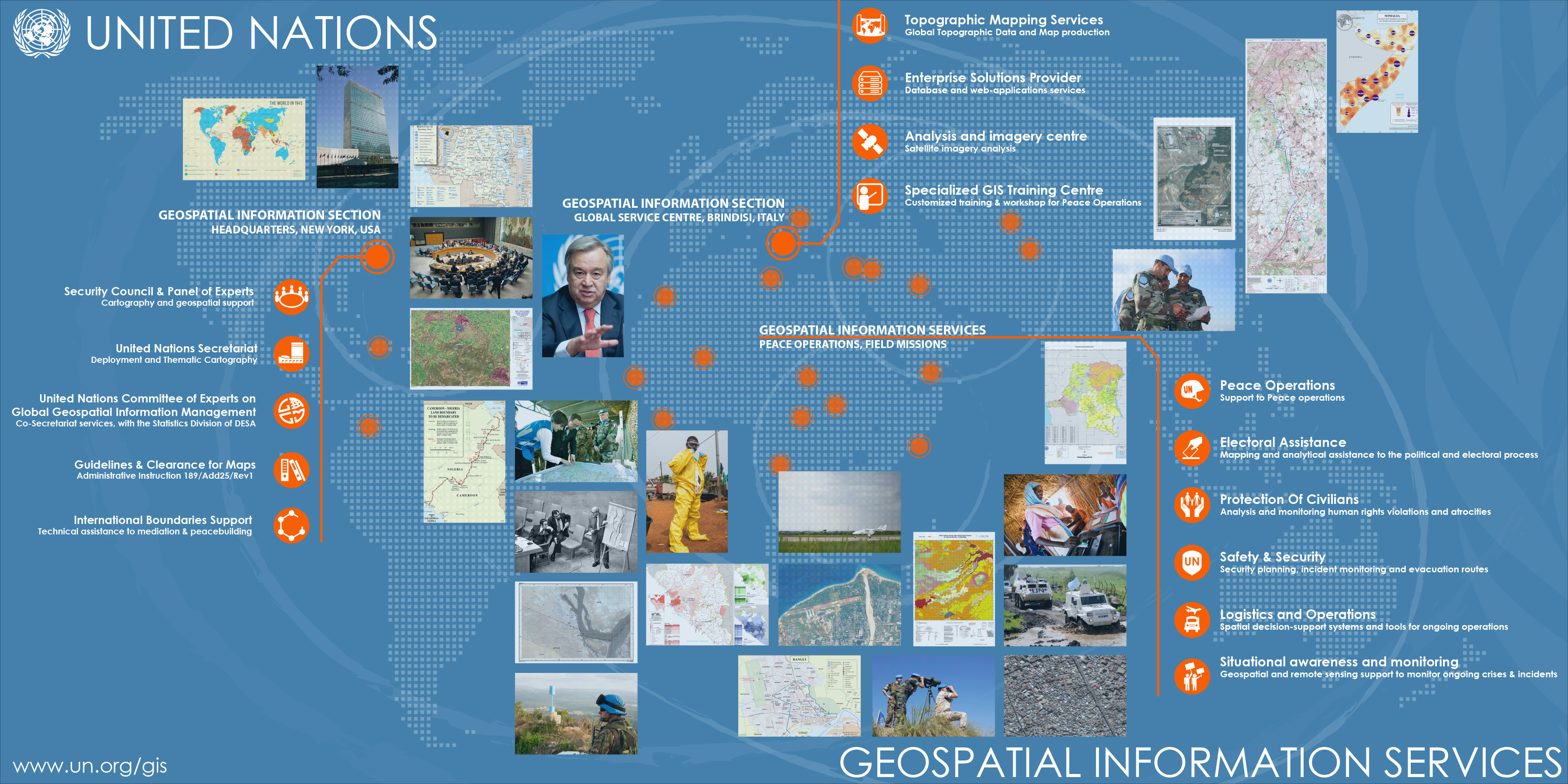 What our students did during their summer cartography m for anyone interested in doing an internship or working at the united nations be it in the headquarters in new york city with the geospatial information gumiabroncs Gallery