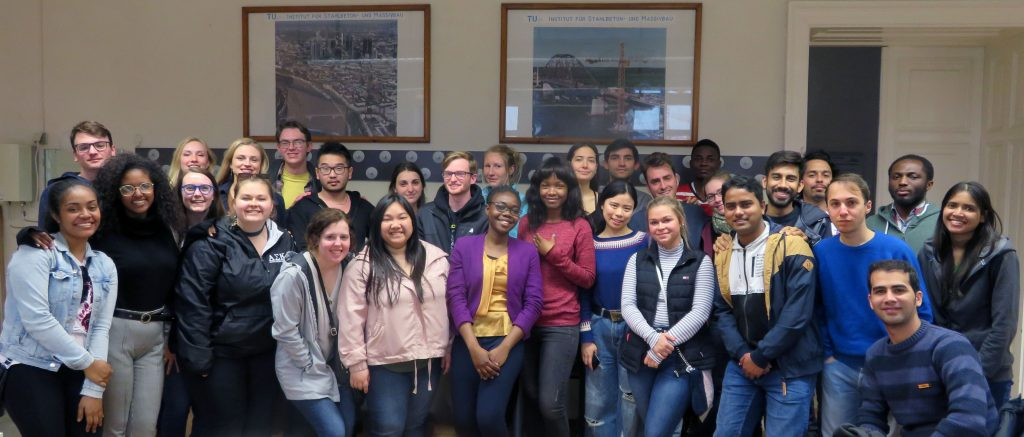 Group picture of IMC and Iowa State students