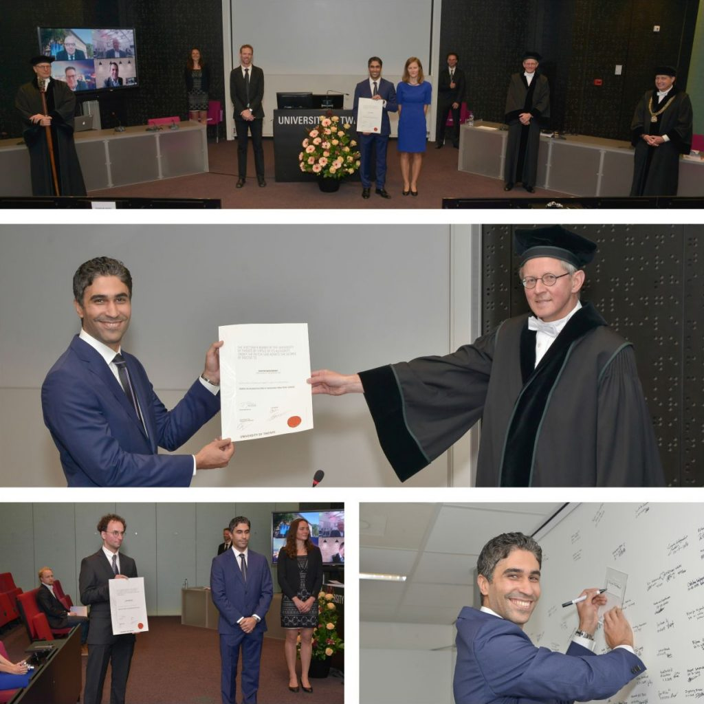 Dissertation defence of Shayan Nikoohemat